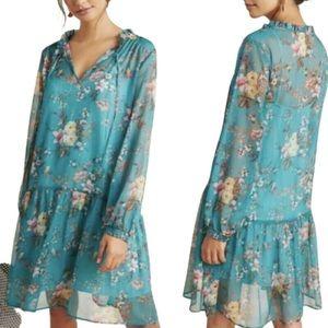 Maeve Plus Emmy Floral Tunic 1X Dress